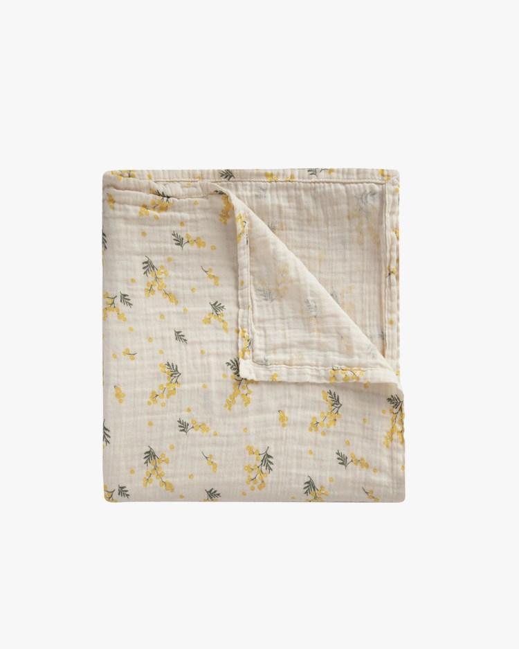 Garbo & Friends Muslin Swaddle Blanket Mimosa