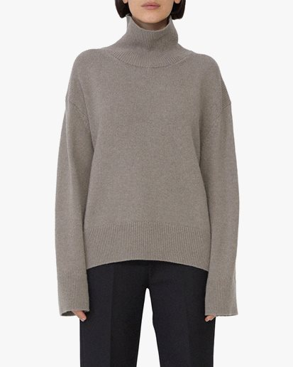 House Of Dagmar Mazzy Knitted Sweater Nocciola