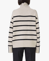 House Of Dagmar Mazzy Knitted Sweater Stripe
