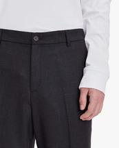 Samsøe Samsøe Noah Trousers Dark Grey Melange
