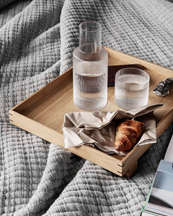 Ferm Living Ripple Small Carafe Set Clear