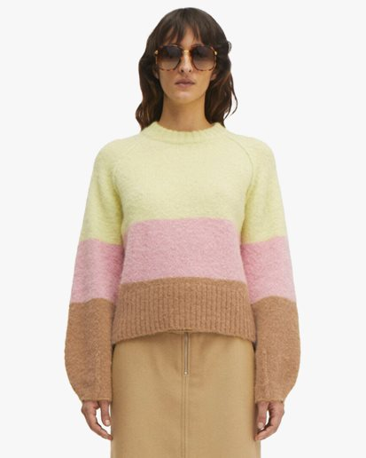 Rodebjer Francisca Sweater Triple Colour