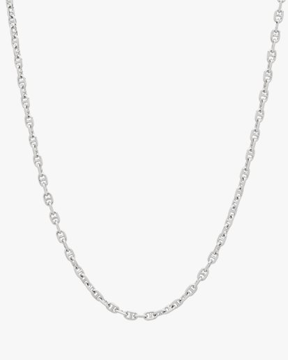 Tom Wood Cable Chain Necklace Silver
