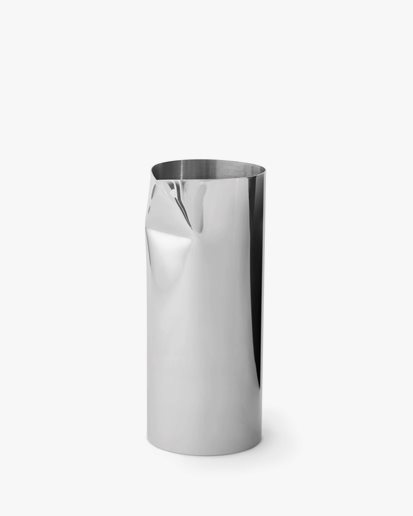 New Works Pleat Pitcher Stainless Steel