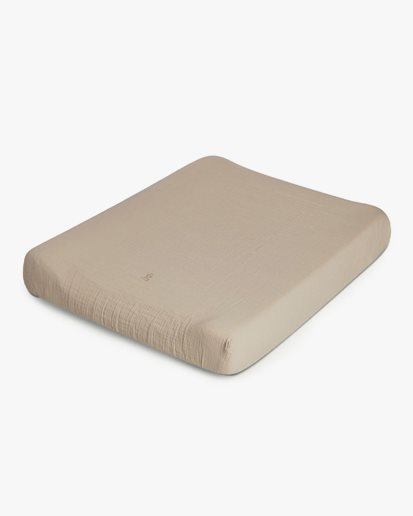 Garbo & Friends Muslin Changing Mat Cover Olive