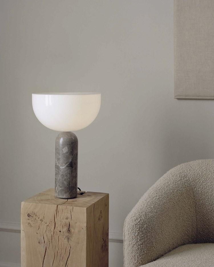 New Works Kizu Table Lamp Large Gris Du Marais