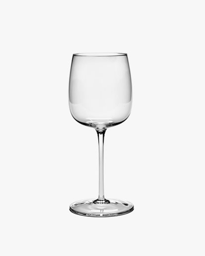 Serax Red Wine Glass Passe-Partout Clear