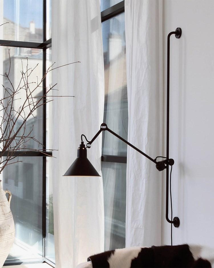 Lampe Gras N° 214 Wall Lamp