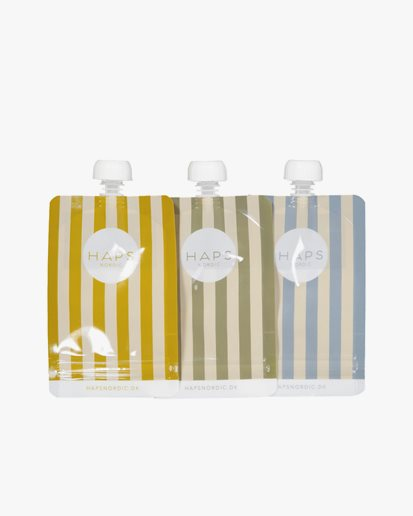Haps Nordic Smoothie Bags 3-Pack Marine Stripe Cold