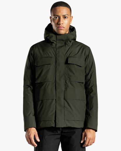Norse Projects Nunk Down Gore-Tex Jacket Beech Green