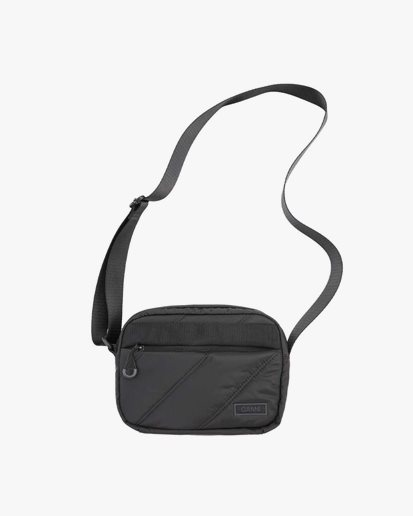Ganni Quilted Recycled Tech Bag