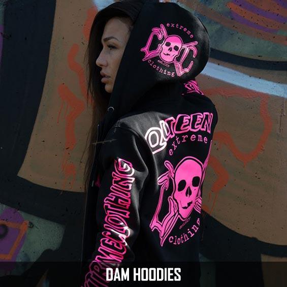 snygga hoodies dam