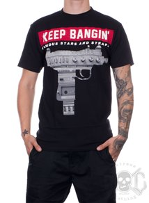 Famous Stars And Straps Keep Bangin Tee