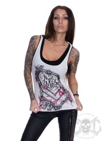 Metal Mulisha Skel Tank