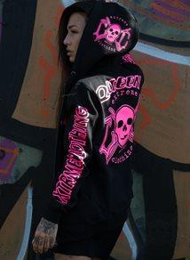 eXc Queen Hoodie Rosa