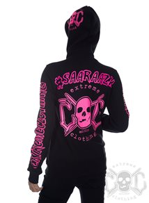 eXc Your Name Hoodie Rosa