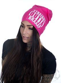 eXc Braaap Beanie, Pink/Wht