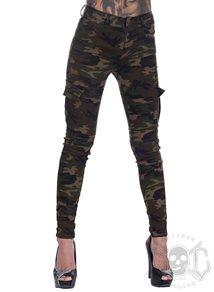 eXc Green Camo Cargo Pants