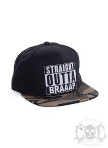 eXc Braaap Camo SnapBack
