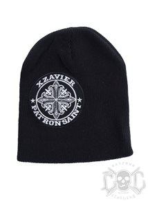 Xzavier Patron Saint Beanie, Black