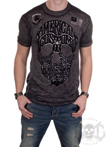 Affliction AC Worldskull Tee