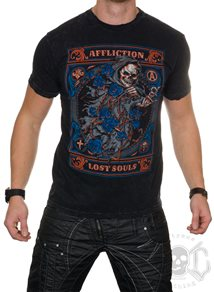 Affliction Black Night Tee