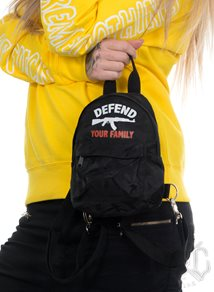 Rebel For Life Defend Your Family Camo Mini Backpack