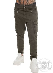 eXc Baggy Cargo Pants, Army