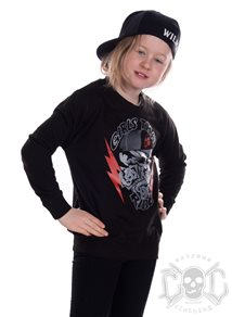 eXc Girls That Ride Kids Sweatshirt, Black