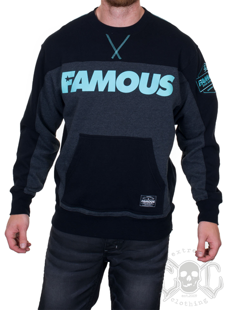 Famous Stars And Straps Burnout Crewneck Sweatshirt
