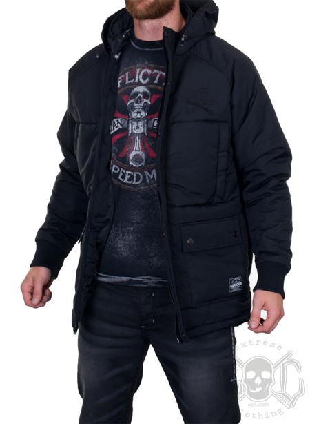 Famous Stars And Straps Blackout Jacket