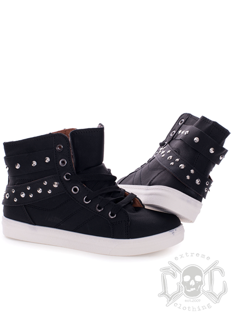 Mix From Italy Lucky Studs Shoes, Svarta