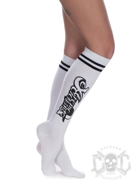 eXc Skull Logo Socks, Vita