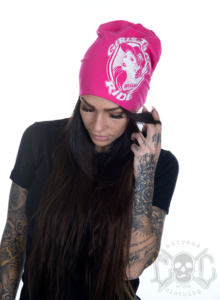eXc G T R Beanie, Pink
