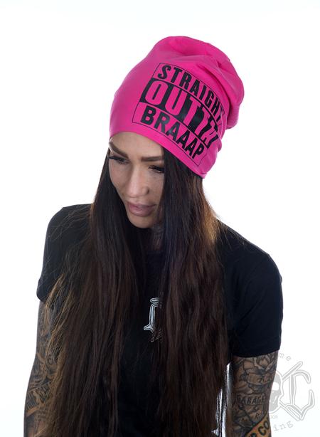 eXc Braaap Beanie, Pink/Black