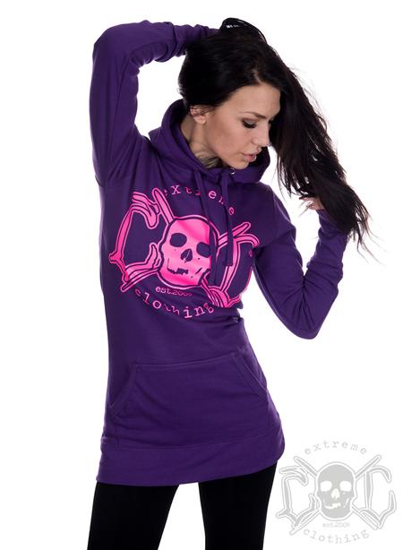 eXc eXc Purple Hoodie