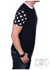 Famous Stars And Straps Stars And Stripes Tee, Black
