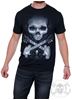 Sullen Rock Badge Tee, Svart