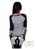 Bikergirl Girls That Ride 3/4 Sleeve