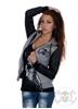 eXc eXc Black/Grey hoodie, Women
