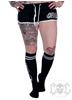 eXc eXc Skull Logo Socks, Svarta