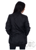 eXc Long Bomber Jacket, Svart