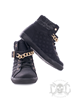 Black N Gold Shoes