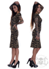 eXc Twisted Back Camo Dress