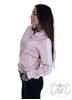 eXc Striped Skull Jacket, Rosa