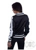 eXc Striped Skull Jacket, svart