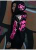 eXc Queen Hoodie Pink