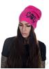 eXc Skull Beanie, Pink