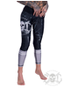 eXc Skull Work Out Leggings, Svarta