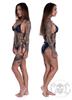 eXc Black N Grey Camo Bikini